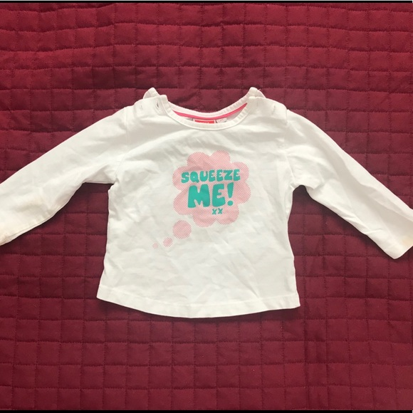 🔥 5 for $15🔥 6-9 Month Squeeze Me Mexx Shirt
